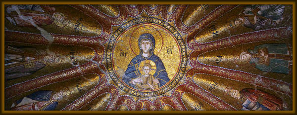 St. Mary Photograph - Blessed Virgin Mary And The Child Jesus by Stephen Stookey