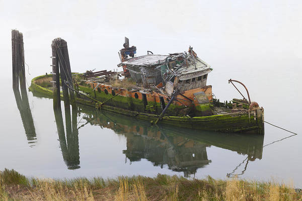 Tug Boat Photograph - Mary D Hume by Debra and Dave Vanderlaan