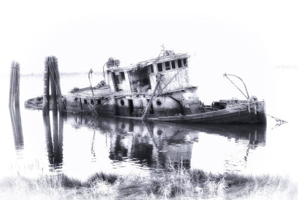 Photograph - Mary D. Hume Ghost Ship by Ghostwinds Photography