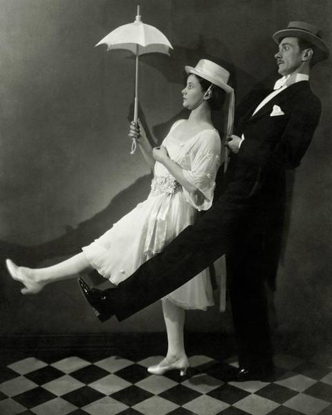Formal Wear Photograph - Mary Hay And Clifton Webb Dancing by Edward Steichen