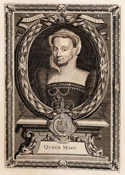 William And Mary Photograph - Mary I by Middle Temple Library