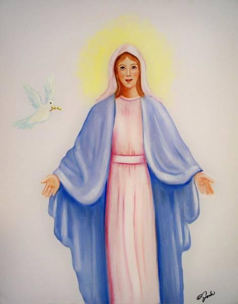 Painting - Mary by Joni McPherson