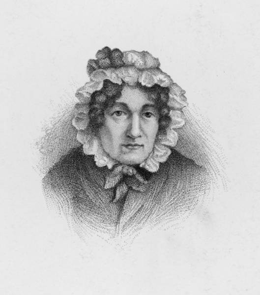 Wall Art - Drawing - Mary Lamb -  English Writer And Sister by Mary Evans Picture Library
