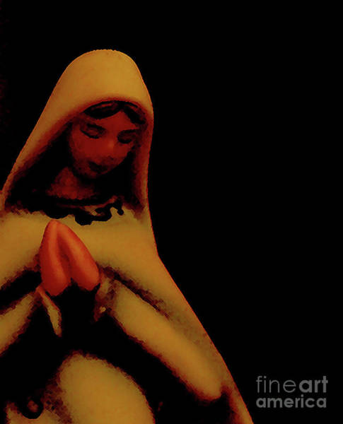 Photograph - Mary by Linda Shafer