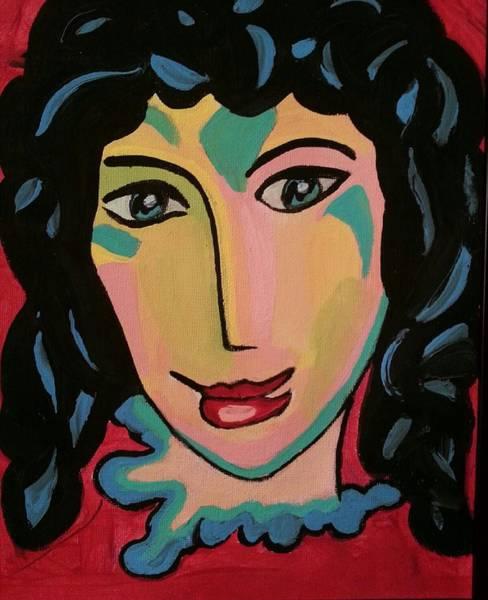 Painting - Mary by Nikki Dalton
