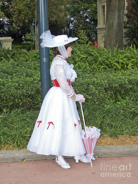 Photograph - Mary Poppins - Epcot by Tom Doud