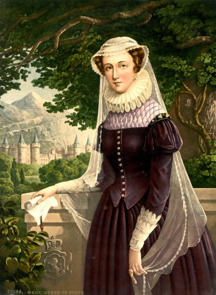 Photograph - Mary Queen Of Scots by Vintage Image