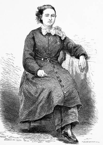 Engraving Photograph - Mary Walker by Bildagentur-online/tschanz