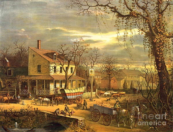 Wall Art - Photograph - Maryland Crossroads Inn 1872 by Padre Art
