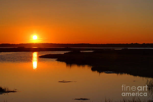 Wall Art - Photograph - Maryland Sunset by Paul Ward