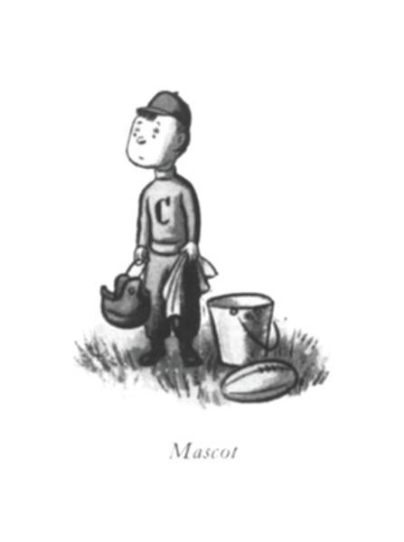 Team Player Drawing - Mascot by William Steig