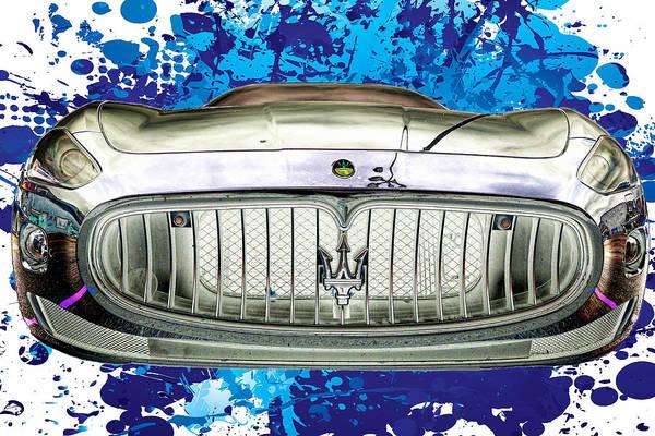 Photograph - Maserati Granturismo I I I by Paulette B Wright