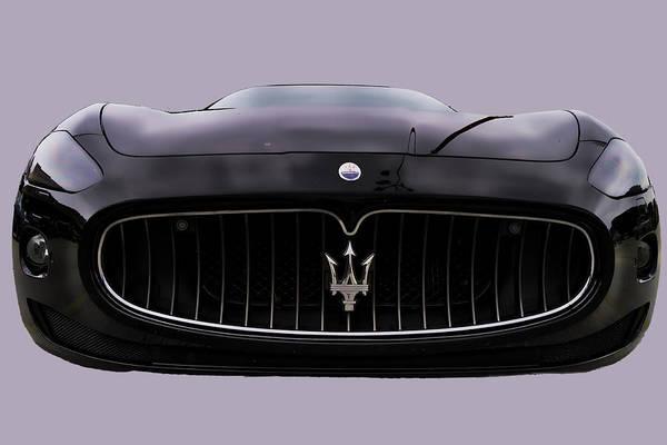 Photograph - Maserati Granturismo I by Paulette B Wright