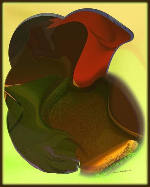 Digital Art - Mashed Up Abstract 15 by Kae Cheatham