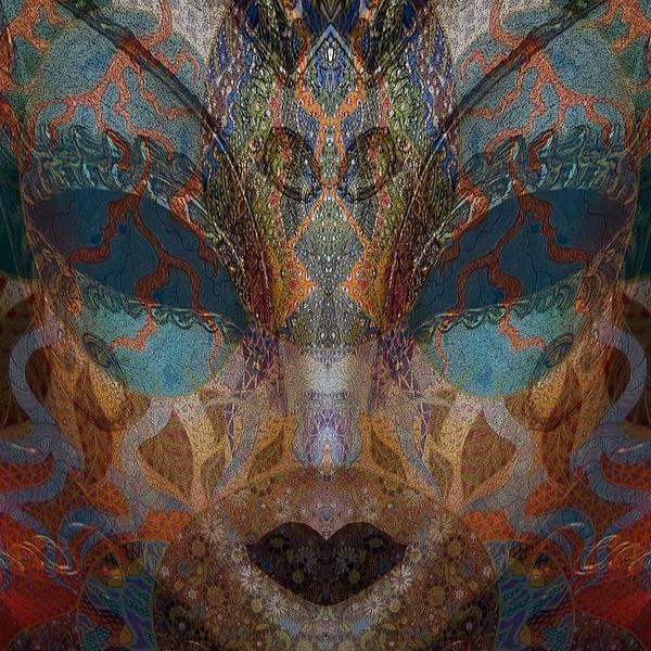 Mixed Media - Mask 1 by Ellie Perla