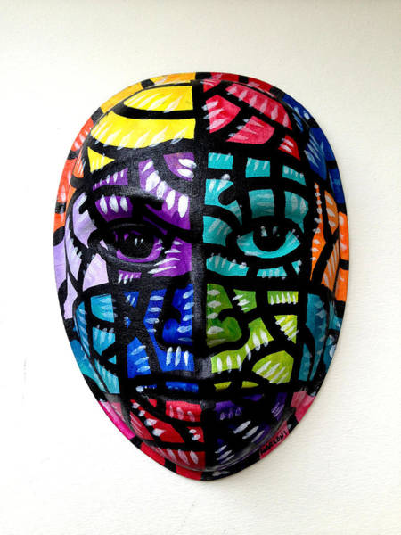 Mixed Media - Mask The Face by Marconi Calindas