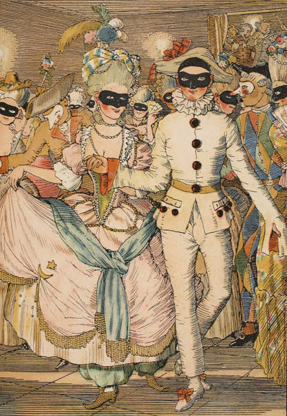 Identity Painting - Masked Ball by Konstantin Andreevic Somov