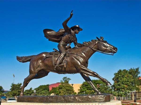 Photograph - Masked Rider Stature  by Mae Wertz