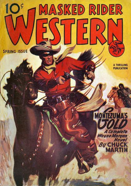 Photograph - Masked Rider Western by Studio Art