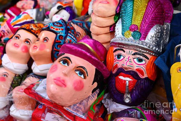 Photograph - Masks For Todos Santos by James Brunker