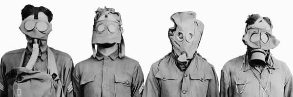 Wall Art - Photograph - Masks Of War by Daniel Hagerman