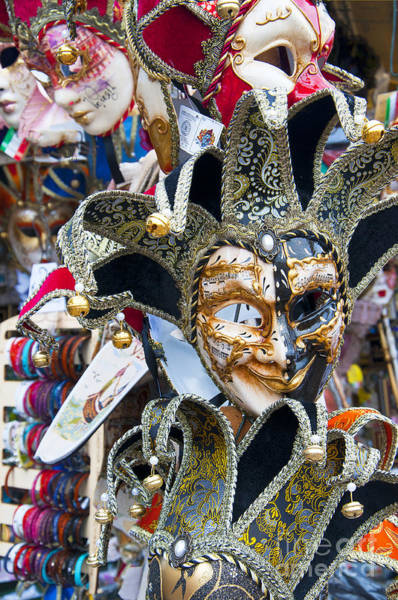 Photograph - Masks With Attitude by Brenda Kean