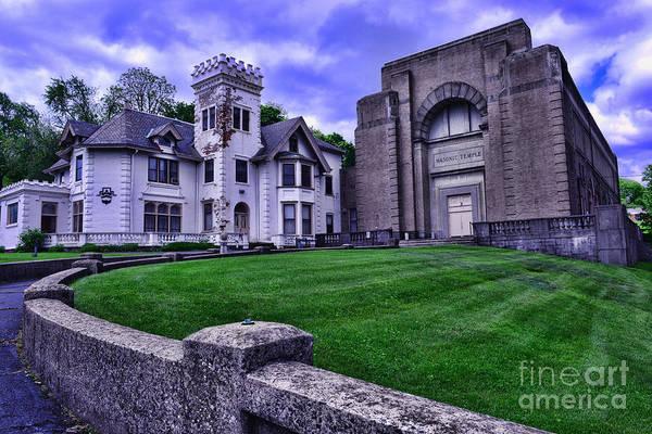 Fraternal Organizations Photograph - Masonic Lodge by Paul Ward