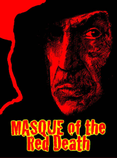 Holy Ghost Drawing - Masque Of The Red Death by Michael Mynatt