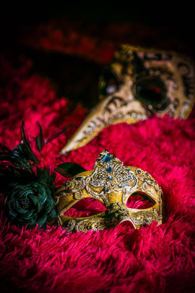 Anglin Wall Art - Photograph - Masquerade by Michael Anglin