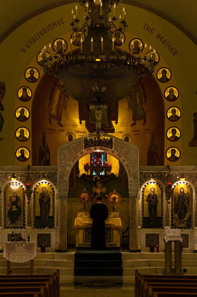 Photograph - Mass At St Sophia by Ed Gleichman