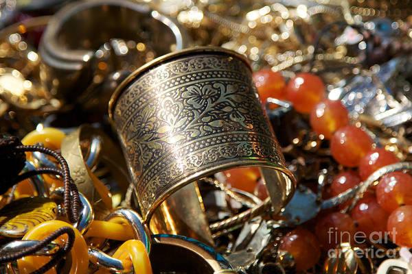Jewelery Photograph - Mass Of Jewlery by Jannis Werner