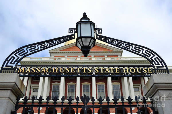 Photograph - Massachusetts State House by Staci Bigelow
