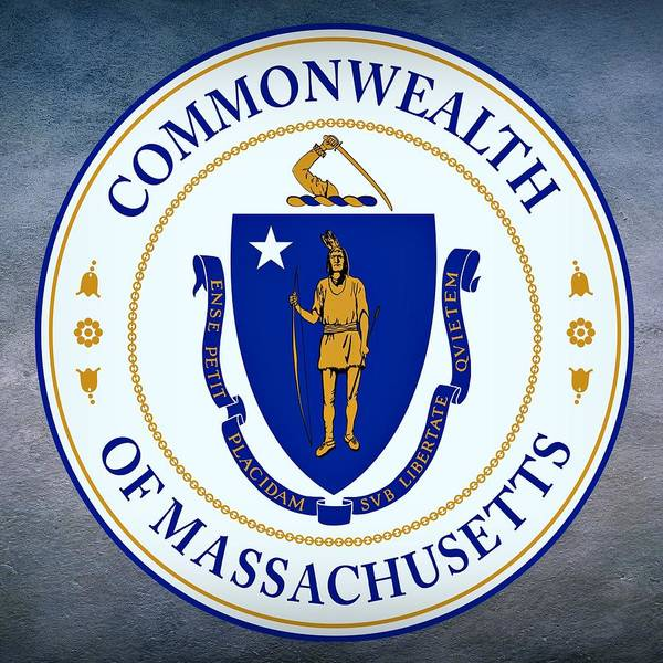 Digital Art - Massachusetts State Seal by Movie Poster Prints