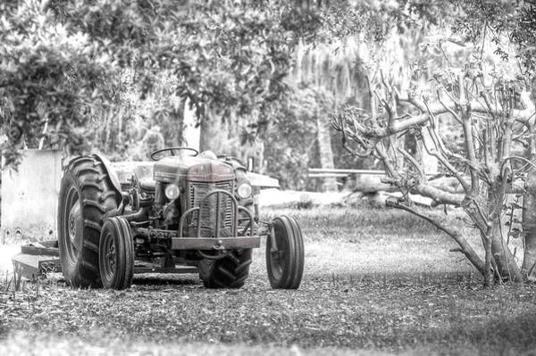 Photograph - Massey Ferguson Tractor by Scott Hansen