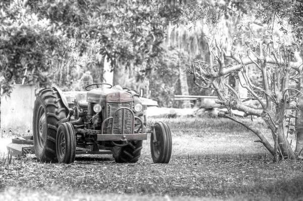 Wall Art - Photograph - Massey Ferguson Tractor by Scott Hansen