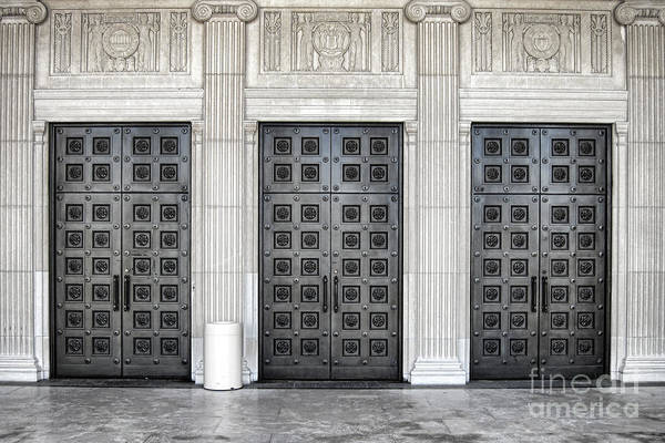 Wall Art - Photograph - Massive Doors by Olivier Le Queinec