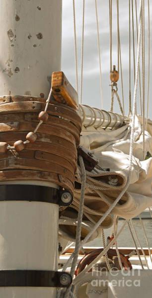 Photograph - Mast Hoops II by Jani Freimann