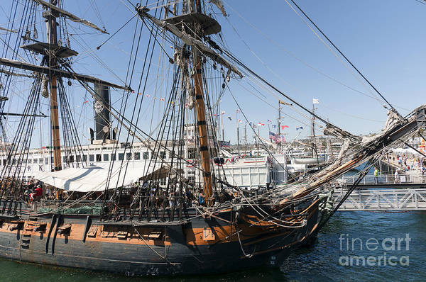 Photograph - Master And Commander Ship by Brenda Kean