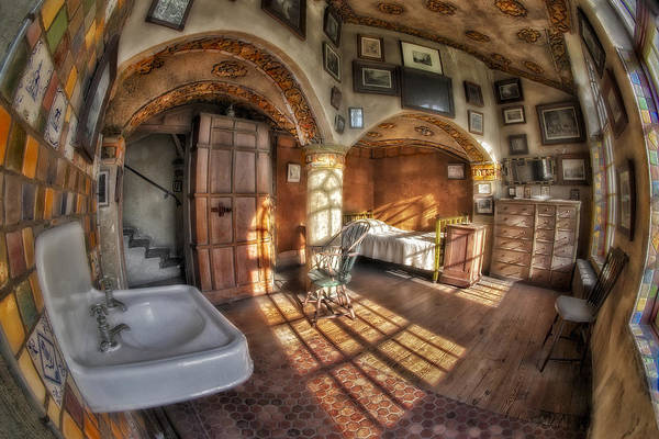 Photograph - Master Bedroom At Fonthill Castle by Susan Candelario