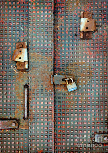 Photograph - Master Lock by Karen Adams