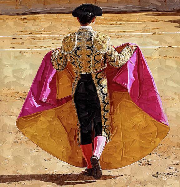 Toreador Photograph - Matador Ready To Work by Clarence Alford