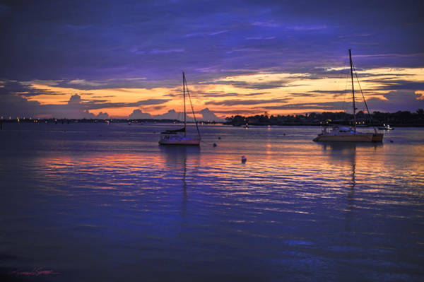 Photograph - Matanzas Bay Sunrise by Stacey Sather