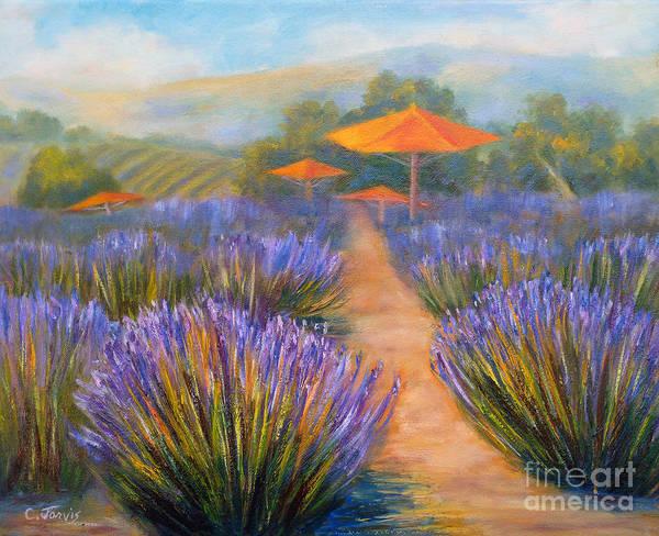 Painting - Matanzas Winery by Carolyn Jarvis