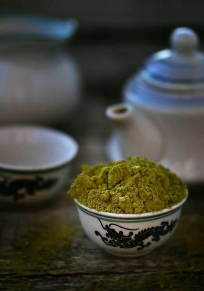 Teapot Photograph - Matcha by Zoryana Ivchenko