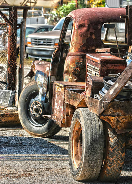 Wrecking Yard Photograph - Mater Is That You by Sherry Thorup