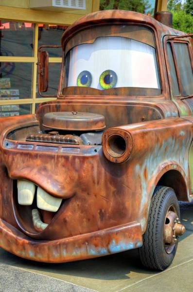 Theme Park Photograph - Mater by Ricky Barnard
