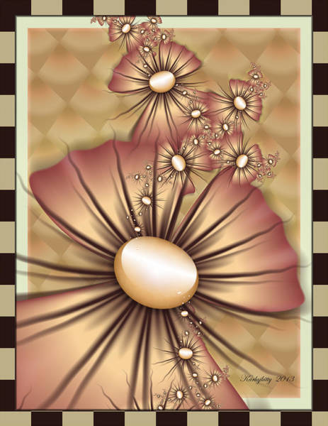Digital Art - Mathematical Elegance by Karla White