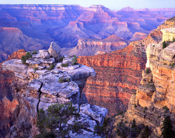 Photograph - Mather Point Afterglow by Ray Mathis