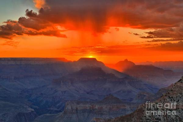 Mather Point Photograph - Mather Point Sunrise by Adam Jewell