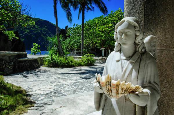 Archipelago Photograph - Matinioc Shrine, Bacuit Archipelago by Michael Runkel
